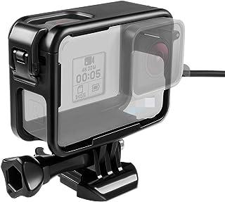【Taisioner】GoPro HERO 5・HERO6・HERO7用 保護フレーム 上部開閉型 第三世代 スポーツカメラアクセサリー