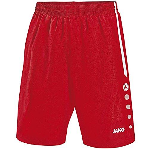 JAKO Pantalon Sport Football Florence XXS Rouge/Blanc