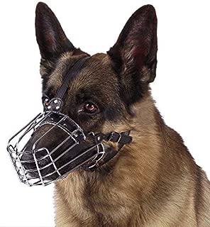 dog muzzle german shepherd