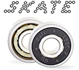 Long Electric Inline Skateboard Bearings – Deck Trucks Wheel, Scooter, Penny, Blades, Roller Skate Wheel...
