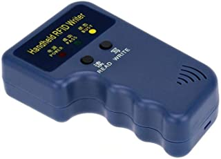Margoun 125 KHz Handheld RFID ID Card Copier/Reader/Writer Duplicator Programmer with 5pcs 125khz ID keychains