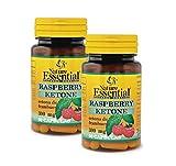 NATURE ESSENTIAL | Ketonas de frambuesa 300 mg | 60 Cápsulas. (Pack 2 unid.)