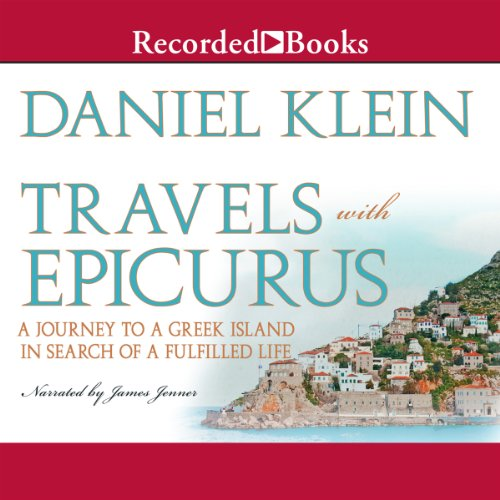 Travels with Epicurus audiobook cover art