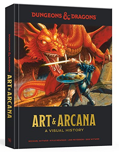 Dungeons And Dragons Art And Arc: A Visual History (Dungeons & Dragons)