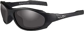 Wiley X XL-1 Advanced COMM Glasses - Smoke Gray + Clear/Matte Black Frame