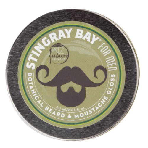 All-natural Botanical Beard and Moustache Gloss and Wax