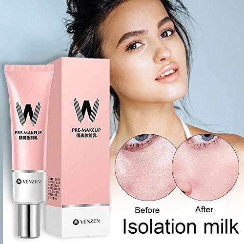 gaeruite W-Airfit Pore Primer, 2PCS Correaler Cover Cream Makeup Face Foundation Facial Makeup Primer Base Pink Isolation Creamfor AirFit Pore Primer Hole Primer Cream