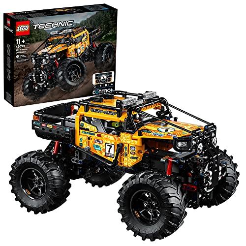 LEGO 42099 Technic Todoterreno Radical 4x4, Camión RC Teledirigido para Niños, Maqueta de Coche de Juguete para Construir con Smarthub y 2 Motores