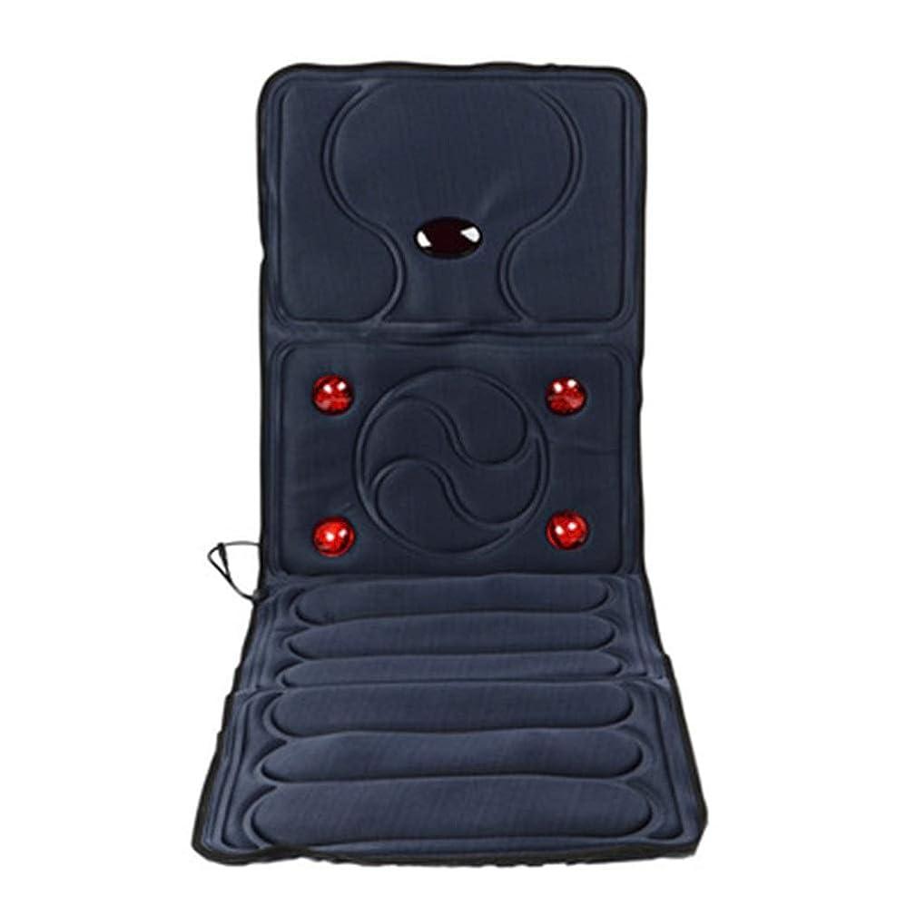 ラリー頑丈資源マッサージマットレス 首上部の腰または脚を狙った加熱振動電動折りたたみ式ボディマッサージマットレス多機能 全身温熱マッサージクッション (色 : Picture, サイズ : 165x58x3cm)
