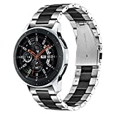TRUMiRR Galaxy Watch 46mm / Gear S3 Bands, Cinturino a sgancio rapido in Acciaio Inossidabile 22mm Cinturino a sgancio rapido per Samsung Galaxy Watch 46mm, Gear S3 Classic Frontie