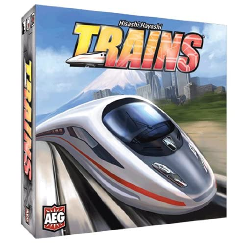 5801AEG PSI Trains Board Game Publisher Services Inc