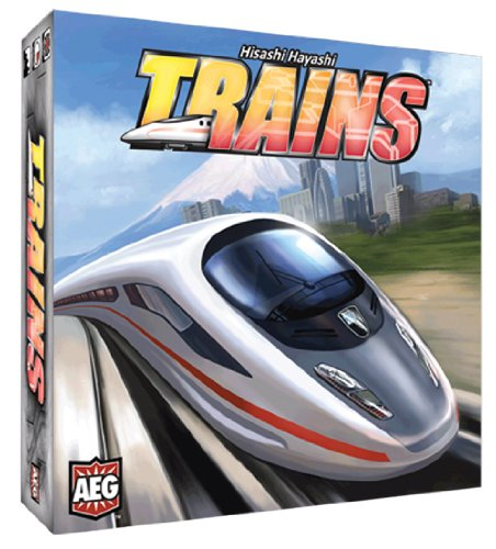 Alderac Entertainment ALD05801 - Trains, Brettspiel