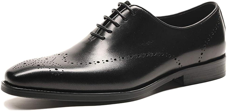 Oxford skor herr Comfort svart bröllop bröllop bröllop Lace Up Patent läder Brogues skor First Layer läder Business Dress skor  fabriks direkt