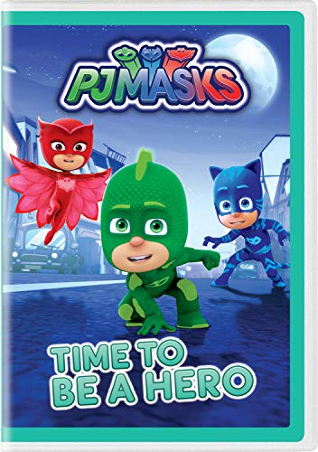 PJ Masks: Time to Be a Hero [DVD]