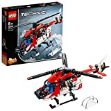 LEGO 42092 Technic 2 en 1 HelicópterodeRescate o Avión, Juguete de Construcción para Niños a Partir de 8 años