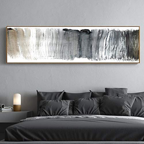Wall Art ZXYFBH Canvas Paintings Abstract Panoramic Nordic Poster Prints Wall Art Pictures for Living Room Sofa Home 220x60cmnoframe Scene