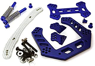 Integy RC Model Hop-ups T7958BLUE V2 Front Shock Tower for Traxxas 1/10 Stampede 2WD XL5 & VXL