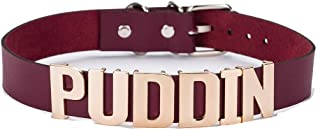 buufan Coco LEE Red Pu Leather Choker Necklace for Haley Quinn Cosplay,for Movies Suicide Squad Custume Accessiores, Puddi...