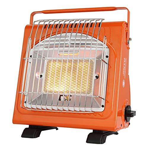 FUSKANG Calentador de gas portátil, gabinete de calefacción de butano multifuncional de 1.7kw for camping al aire libre, calentador de propano de seguridad de seguridad, calentador de espacio for pesc