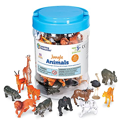 Top 10 best selling list for learning resources jungle animals