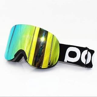 YYBGZ Gafas De Esquí Espejo De Nieve De Una Y Dos Tablas Cilindro Asiático Super Claro Zeiss Doble Antiniebla
