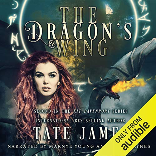 The Dragon's Wing audiobook cover art
