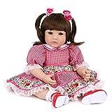 ZXYMUU Reborn Baby Muñecas Muñecas Realista Silicona Vinilo Lindo Bebé Muñeca Simulación Suave 20 Pu...