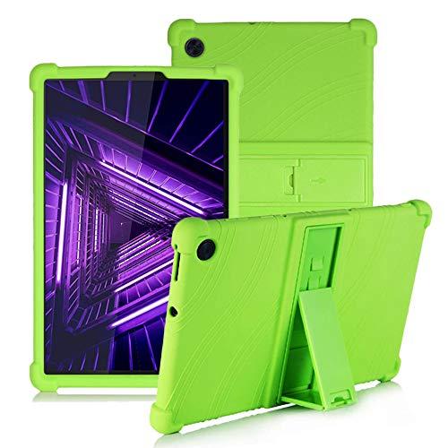 YGoal Hülle für Lenovo Tab M10 Plus 10.3 - Leichte, kinderfreundliche, stoßfeste Schutzhülle silikonhülle für Lenovo Tab M10 FHD Plus TB-X606F 10.3 Zoll, Grün