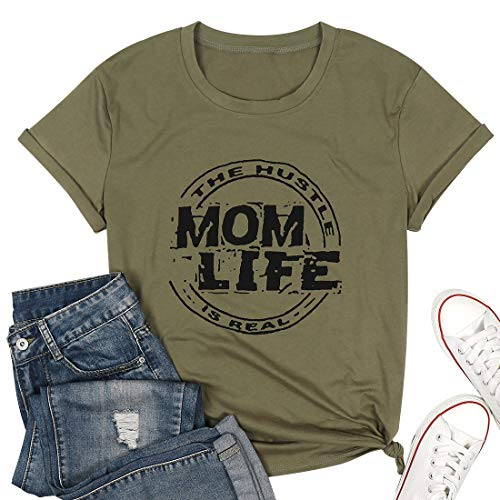 Uomo shirt grande girocollo oversize Men T-Shirt Cachi Verde Taglio Lungo Camicia Club 912