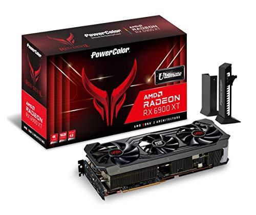 PowerColor Red Devil AMD Radeon RX 6900 XT Ultimate Gaming Card con Memoria GDDR6 de 16 GB, Alimentado por AMD RDNA 2, HDMI 2.1