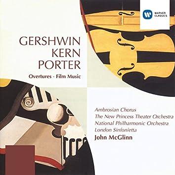 Gershwin/Porter/Kern Overtures and Film Music
