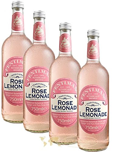 Fentimans Rose Lemonade 4 x 750 ml