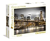 Clementoni- New York Skyline Puzzle, 100 Pezzi, Multicolore, 1000, 39366