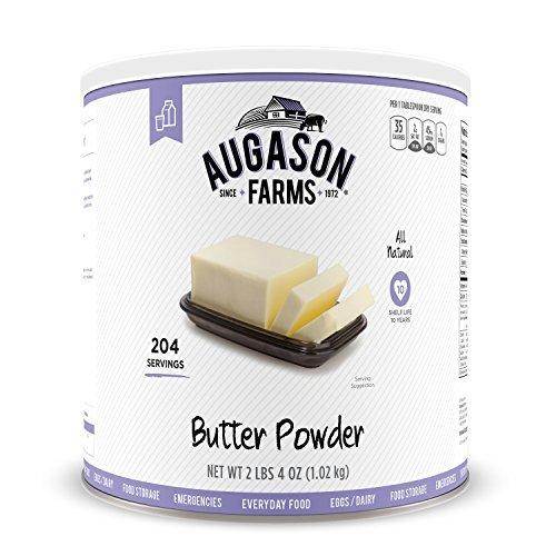 Augason Farms Butter Powder Emergency Food Storage 2lbs, 4oz. by Augason...