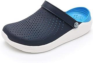 虹他哥 crocks Hole Shoes, Trend Students Korean Version Of Non-slip Soft Bottom Shoes Thick Bottom Baotou Slippers Sandals womens crocs (Color : B, Size : 41)