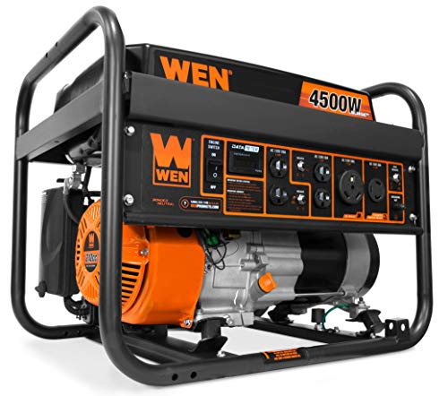 WEN 56475 4750-Watt Portable Generator with Electric Start and Wheel Kit 3
