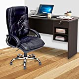 High Living Executive Revolving Office Chair   Desk Chair - Black (ATHENNA)