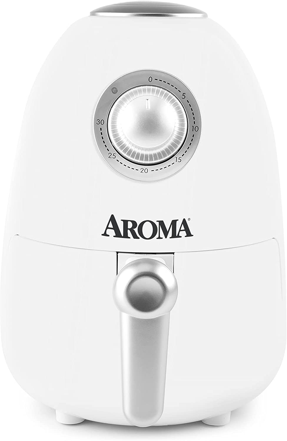Aroma Housewares Deluxe 2Qt. Air Brand new Fryer Nonsti Timer Built-In Includes