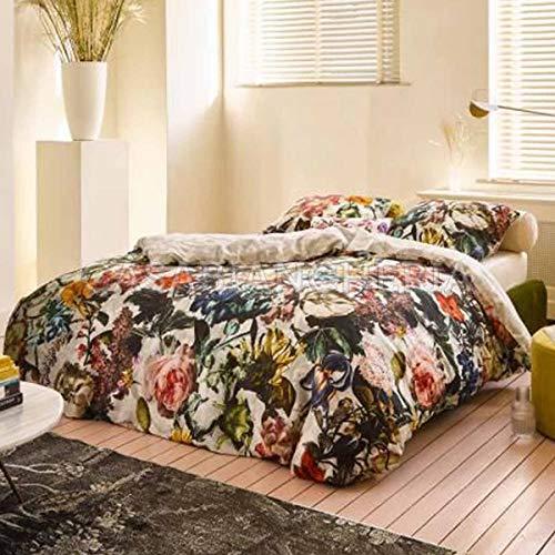 ESSENZA Home Colcha acolchada para cama de matrimonio Famke-Marfil