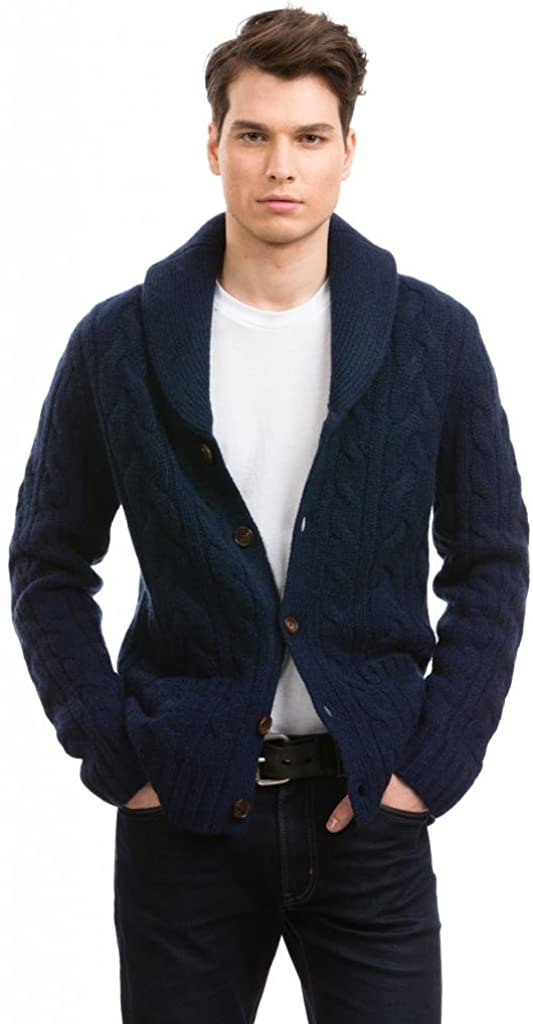 Citizen Cashmere Shawl Collar Cardigans - 100% Tibetan Yak Wool