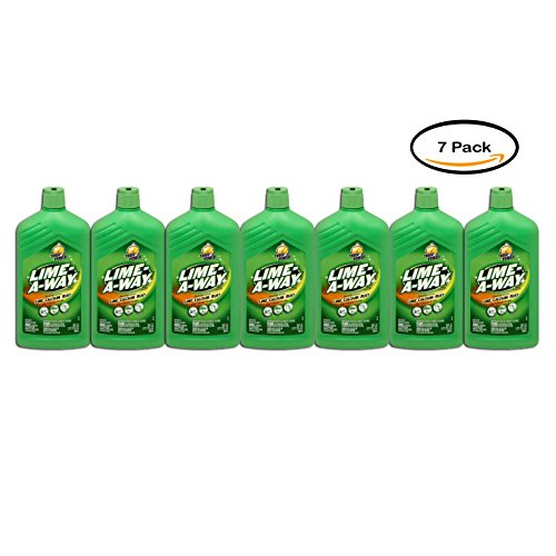 Pack of 7 - Lime-A-Way Lime Calcium Rust Cleaner, 28 Fl Oz