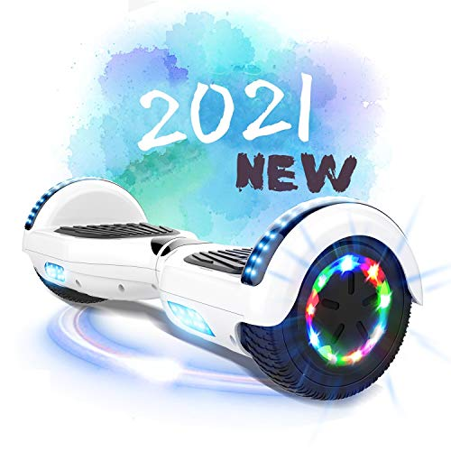"MARKBOARD Hoverboards, Self Balancing Scooter 6.5"" Elektro Scooter Hover Scooter Board Skateboard - Eingebaute Bluetooth Lautsprecher"