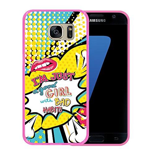 Funda Samsung Galaxy S7 diseñada especialmente para usted: moderna, funcional, diseño exclusivo y original Fabricada en Gel (TPU) Flexible con tacto suave de primera calidad La ilustración está impresa mediante inyección con tinta UV para que el acab...