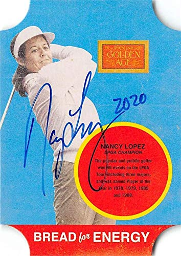 %32 OFF! Nancy Lopez autographed trading card 2013 Golden Age Bread for Energy #10 (Womens Golf Hall...