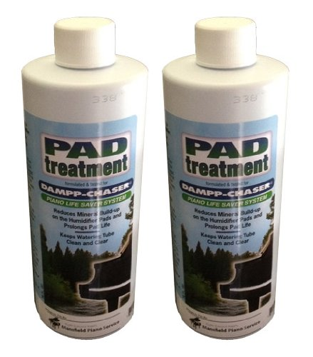 Dampp-Chaser Piano Humidifier Pad Treatment 16 oz Bottle Value Pack - 2/Pack