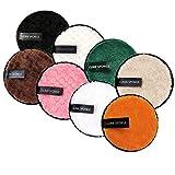 8 Pcs Coton Demaquillant Lavable,Tampons Démaquillants Biologique,Éponge Démaquillage...