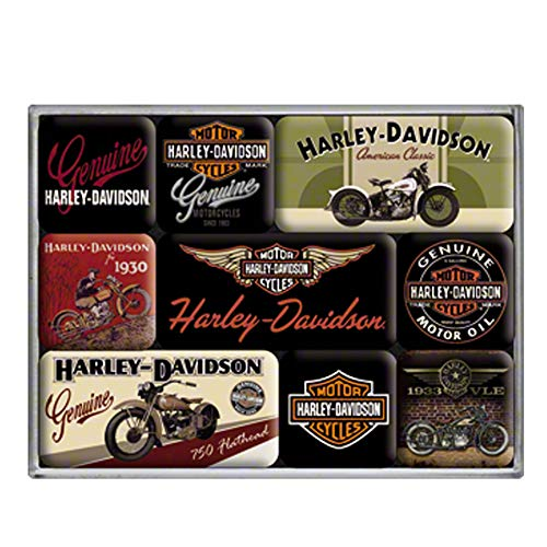 Nostalgic-Art magneetsets - Harley-Davidson