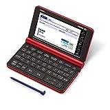 カシオ 電子辞書 生活 教養 エクスワード XD-SX6500RD 160コンテンツ レッド XD-SXN65RD セット