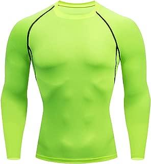 KINGOLDON Sports Suit Men's Casual Fitness Fast Drying Elastic Long Sleeve Long Pants