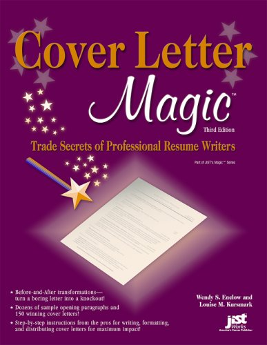 Image OfCover Letter Magic: Trade Secrets Of Professional Resume Writers